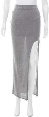 Helmut Lang Asymmetrical Drape Skirt