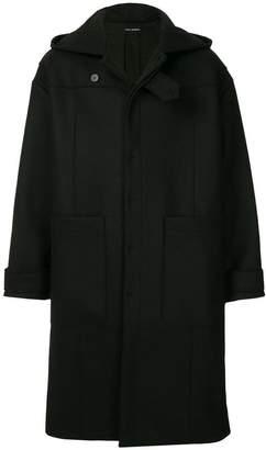 Isabel Benenato oversized hooded coat