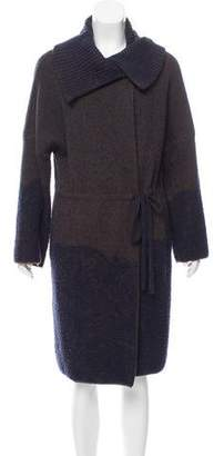 Etro Jacquard Wool Cardigan