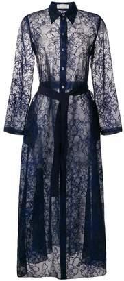 Mantu belted shirt dress