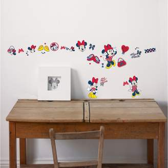Disney Red Minnie Mouse Small Wall Stickers