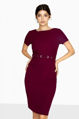 Paper Dolls Outlet Bayview Eyelet Waist Pencil Dress