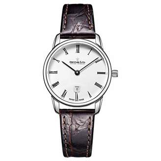 Dreyfuss & Co Dreyfuss Womens Analogue Classic Quartz Watch with Leather Strap DLS00146/01