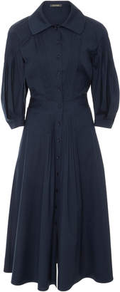 Zac Posen Cotton Poplin Shirt Dress