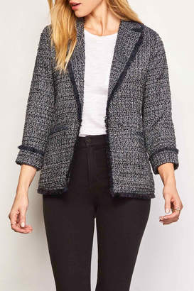 Cupcakes And Cashmere Gregory Tweed Blazer