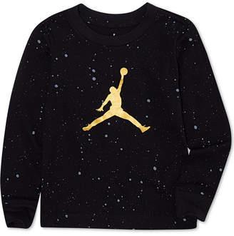 26ec5dd019c43b at Macy s · Jordan Big Boys Speckled Jumpman Graphic Cotton T-Shirt