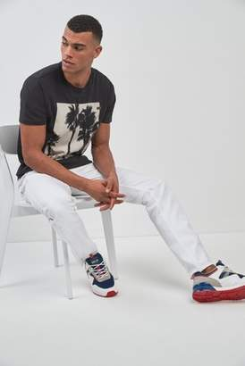 Next Mens Replay Anbass Bull Stretch Slim Fit Jean