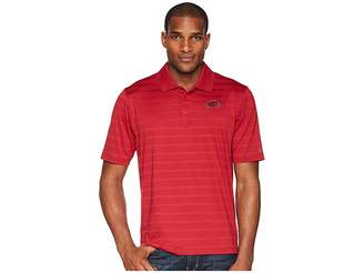 Champion College Arkansas Razorbacks Textured Solid Polo Men's Short Sleeve Pullover