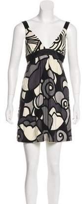 Tibi Abstract Mini Dress