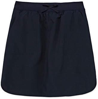 Izod EXCLUSIVE Exclusive Girls Comfort Waistband Elastic Waist Scooter Skirt
