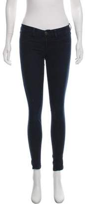 J Brand Low-Rise Jean Leggings