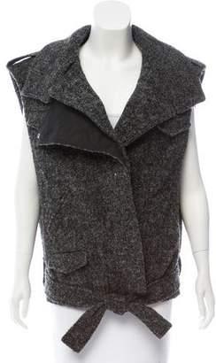 Isabel Marant Bouclé Wool-Blend Vest