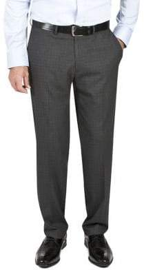 Haggar Performance Plaid Suit Pants