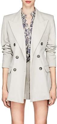 Isabel Marant Women's Kleigh Cotton-Linen Double-Breasted Blazer
