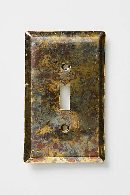 Anthropologie Essex Switch Plate