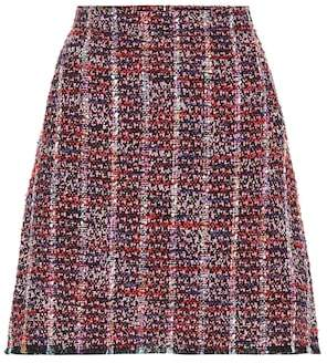 Etro Tweed miniskirt
