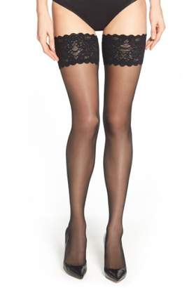 Wolford Satin Touch 20 Stay-Up Stockings