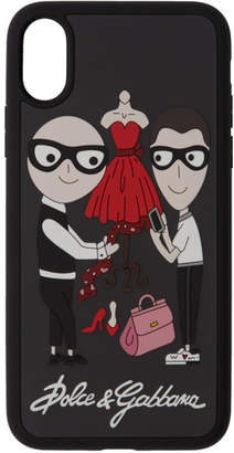 Dolce & Gabbana Black Family iPhone X Case