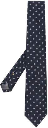 Canali cashmere dotted tie