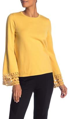 Catherine Malandrino Deco Bell Sleeve Sweater
