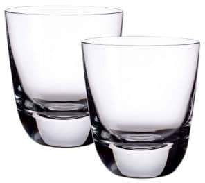 Villeroy & Boch American Bar 4.5 Inch Double Old Fashoned Tumbler Set Of 2