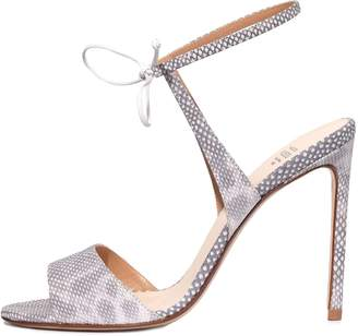 Francesco Russo Single Sole Sandal in White