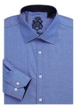 English Laundry Stripe Cotton Dress Shirt