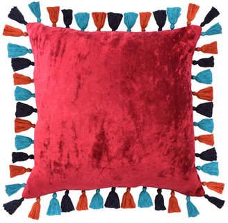 ... Blissliving Home Mexico City Macarena Cotton Throw Pillow