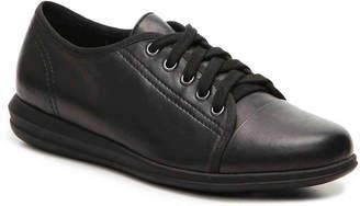 David Tate Sierra Sneaker -Black Suede/Patent - Women's
