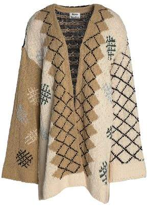 Acne Studios Intarsia Cotton Cardigan
