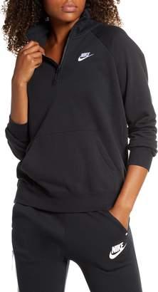 Nike Essential Quarter Zip Fleece Top