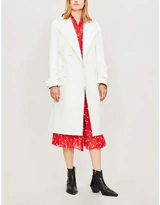 KITRI Justine patent trench coat