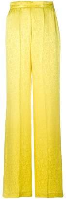 Etro jacquard wide-leg trousers