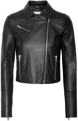 Elizabeth and James - Gigi Leather Biker Jacket - Black $995 thestylecure.com