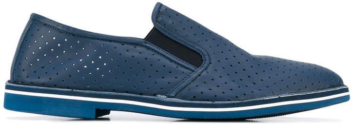 Baldinini peforated loafers