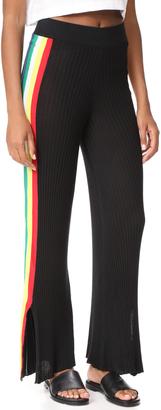 Wildfox Alaya Racing Stripe Pants $154 thestylecure.com