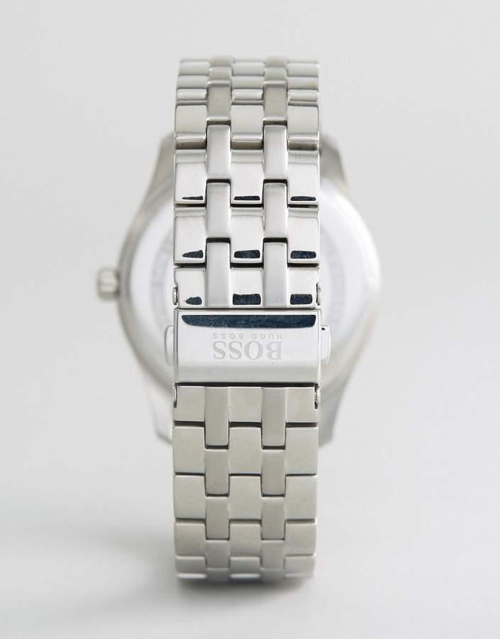 HUGO BOSS Boss By 1513493 Commander Bracelet Chronograph Watch In Silver