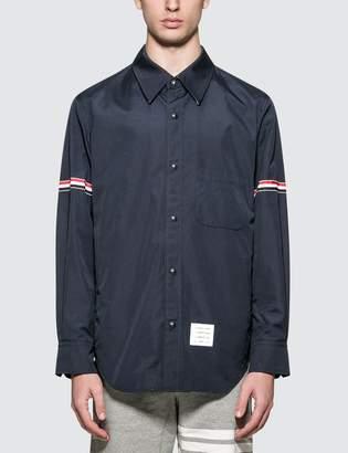 Thom Browne Snap Front Shirt Jacket