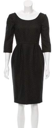 Gucci Wool Perforated Dress w/ Tags