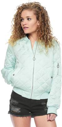 Juicy Couture Satin Puffer Jacket