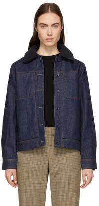 A.P.C. Indigo Denim Steffie Jacket