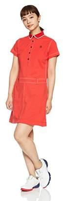 Munsingwear (マンシングウェア) - (マンシングウェア) Munsingwear(マンシングウェア) ワンピース MGWLGJ01 RD00 RD00(レッド) M