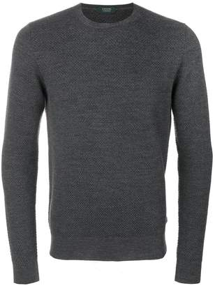 Zanone textured knit jumper