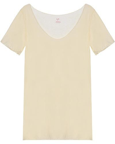 Lna Raw Edged Tee