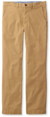 L.L. Bean L.L.Bean Men's Lakewashed Stretch Khakis, Standard Fit