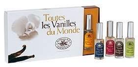 La Maison de la Vanille Toutes Les Vanilles du Monde by 5 Piece Set by