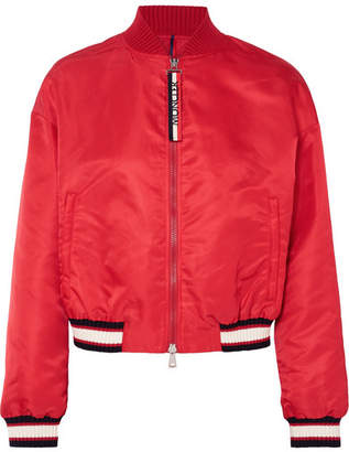 Moncler Satin-shell Bomber Jacket