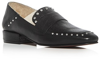 Kenneth Cole Bowan Studded Square Toe Loafers $150 thestylecure.com