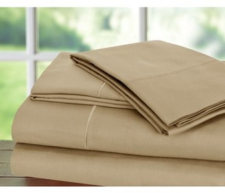 Blend of America Addy Home Fashions T1000 Cotton Rich Egyptian Sateen 4pc Set