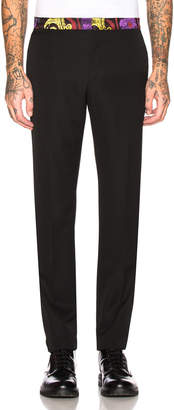 Versace Evening Trouser in Multi | FWRD